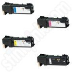 Remanufactured Multipack of Xerox 106R01477-80 Toner Cartridges