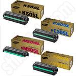 Multipack of Samsung 505L Toner Cartridges