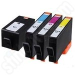 Refilled Multipack of High Capacity HP 934XL and 935XL Ink Cartridges