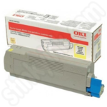 Oki 46471101 Yellow Toner Cartridge