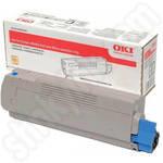 Oki 46490403 Cyan Toner Cartridge