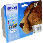 Original Multipack of Epson T0715 Ink Cartridges