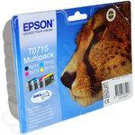 Original Multipack of Epson T0715 Ink Cartridges
