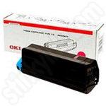 Original Oki Type C6 Magenta Toner Cartridge