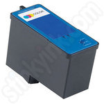 Refilled High Capacity Dell CH884 Colour Ink Cartridge
