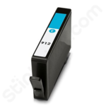 Refilled High Capacity HP 912XL Cyan Ink Cartridge