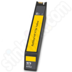 Refilled High Capacity HP 973X Yellow Ink Cartridge