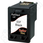 Refilled HP 337 Black ink Cartridge