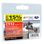 Remanufactured Canon PG-512 Black Ink Cartridge