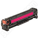 Remanufactured HP 125A Magenta Toner