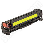Remanufactured HP 125A Yellow Toner