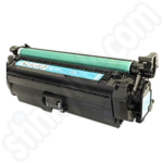 Remanufactured HP 654A Cyan Toner Cartridge