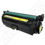 Remanufactured HP 654A Yellow Toner Cartridge