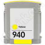 Remanufactured  HP 940 XL Yellow Ink Cartridge