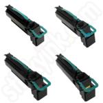 Remanufactured  Multipack of Extra High Cap Lexmark C792X1 Toner Cartridges