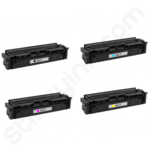 Remanufactured Multipack of High Capacity Canon 054H Toner Cartridges
