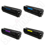 Remanufactured Multipack of Samsung 503L Toner Cartridges