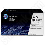 Twin pack of High Capacity HP 49X Toner Cartridges