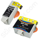 Compatible Twinpack of Kodak 10 Ink Cartridges