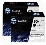 Twinpack of High Capacity HP CE390X Toner Cartridges