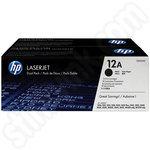 Twinpack of HP 12A Toner Cartridges
