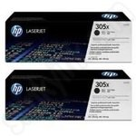 Twinpack of HP 305X Black Toner Cartridges