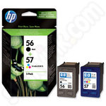 Twinpack of HP Original 56 and 57