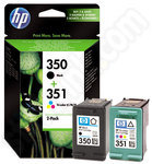 Twinpack of Original HP 350 and 351 Ink Cartridges