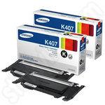 Twinpack of Samsung K4072S Black Toners