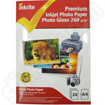 Value A4 Premium Glossy Photo Paper - 20 Sheets
