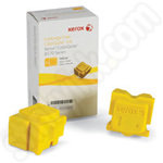 Xerox 108R00933 Twin-Pack of Solid Yellow Inks